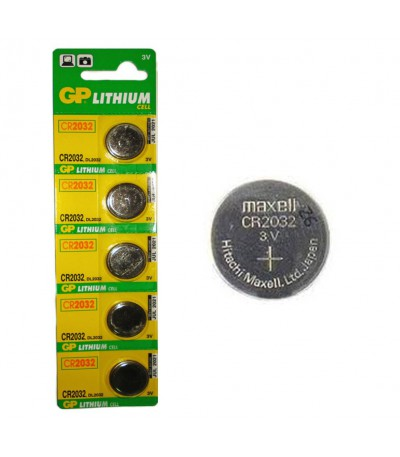 PILAS BOTON BLISTER/5 GP              CR-2032